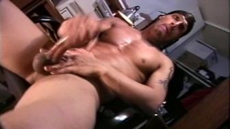 Super hot black stud jerks off - Encore Video (Ray Rock Studios)