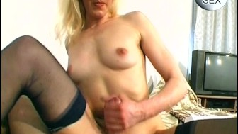 Skinny amateur can take it - Sascha Production