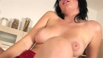 Rilana gasps as she cums - CzechSuperStars