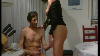 Quick hard fuck before he has to leave - DBM Video