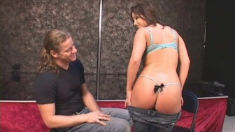 Dreamy Coed's Sexy Audition