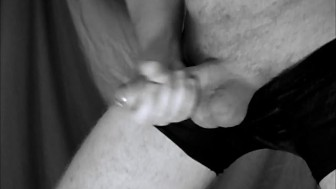 Close Up Wank Slow Motion Cum