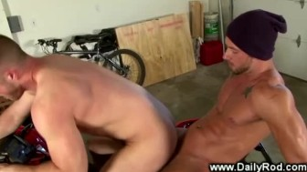 Gay jock goes for a ride on his friends hard dick