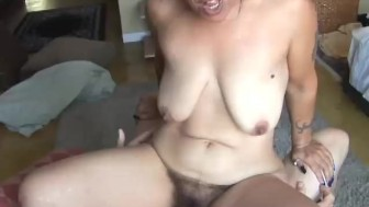 Beautiful mature babe loves cock