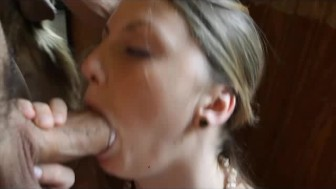 Staci First Time Sucking Cock