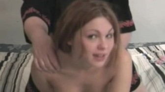 Cute dirty coed loves both oral and anal with Ed Powers