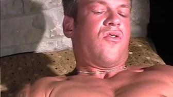 Hunky Soldier Stroking His Cock - CUSTOM BOYS