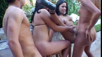 Male, Female, Shemale sex party - Combat Zone