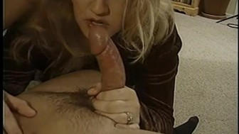 Chubby blonde pegging a dude - Legend