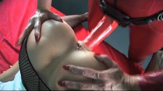 Nurse gets fucked with a strap-on - Scene 4 - Harmony