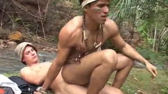 Trading cocks with a native boy - Rock Hard Entertainment