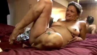 Slutty mature amateur Ivee enjoys a hard fucking