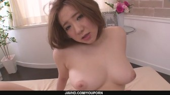 Big assed Alice Ozawa fucked in a japan blowjob video