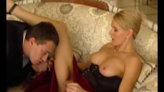 Sexy Blonde German Takes Cum All Over Her Face After Getting Banged in The Ass