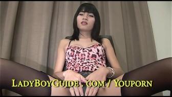 Ravishing Thai Girly Boy Gorged Buggered And Sucked
