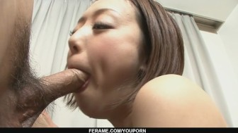 Rina Yuuki is an Asian chick that craves for man-meat