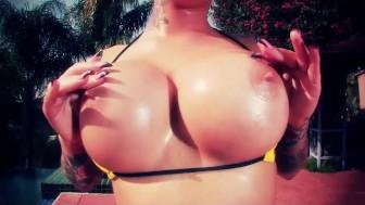 Christy Mack in Yellow Bikini