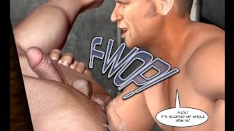 Sadomaso Gay Fisting Story 3D Cartoon Animated Comics Toon Hentai