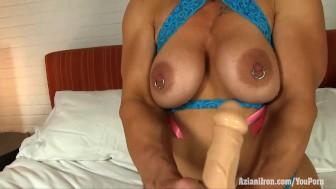 Aziani Iron bubble butt female bodybuilder Brand Mae