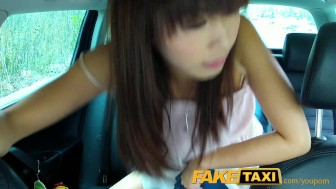 FakeTaxi Japanese tourist gets her tight pussy fucked