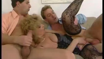 Horny woman wants two cocks at once - Telsev