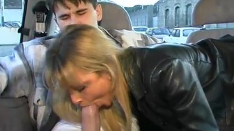 Free blowjob with the ride