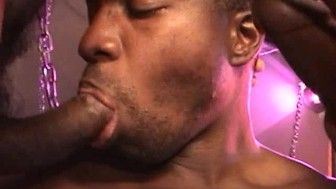 Big Black Hunks Have A Hot Threesome - Factory Video