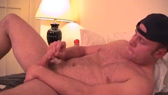 Uncut guy jerking off in his room - Factory VideoJM Productions