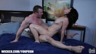 Belle Noir in a romantic sex scene