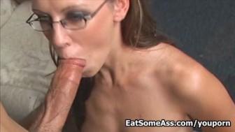 Ass Eater Alicia Alighatti Licks Ass hole for a Facial
