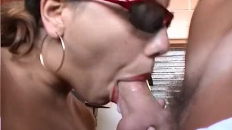 Hairy babe takes a good dick - Telsev