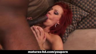 Mature redhead Shannon Kelly loves rough anal banging