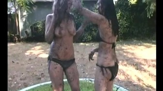 Time For Some Mud Wrestling - Train Wreck