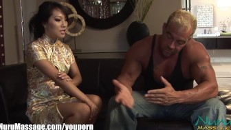 Nuru Massage Asa Akira Sliding Compilation