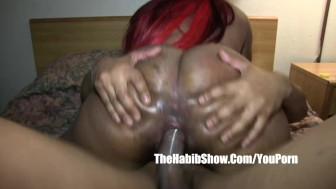 redzilla bbc fucks this mixed rican thick juicy n hairy luv making session