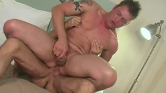 Two muscle gays fucking - Factory Video