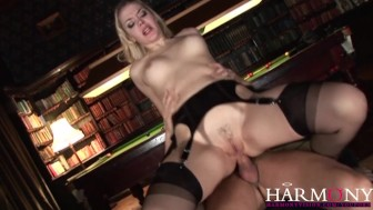 HarmonyVision Double Penetrating the Maid