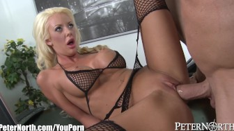 PeterNorth BlondeBombshell Gets a Good Anal