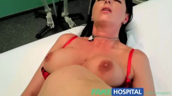 FakeHospital Busty sexy milf gets fucked on the examination table after striking a saucy deal