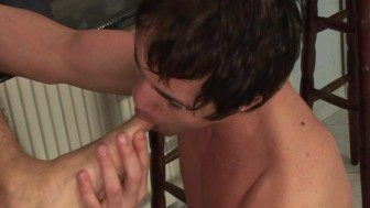 Toe Sucking, Cock Sucking, Ass Fucking Fun - Lucas Entertainment