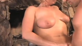 super slutty blonde get nailed every which way and ends in the ass