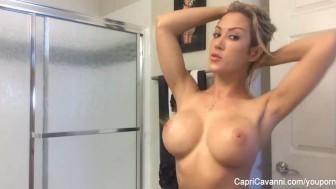 Capri's sexy home video