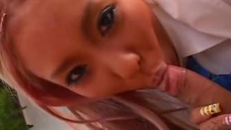 Endearing Japanese cutie gets shagged hard