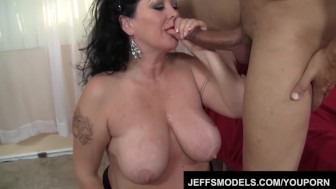 Hot plumper MILF Alexis Couture is getting fucked
