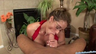 Eva Notty's gets plowed and swallows for the 1st time