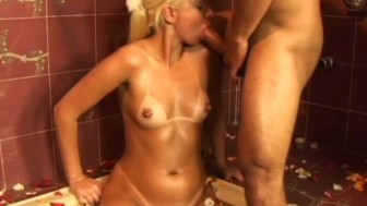 Blonde Gets It In The Ass Before Getting A Facial - CRITICAL X