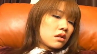 Dashing Yu Aizawa enjoys her wet vag