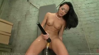 Cold Hard Steel In Hot Pussy