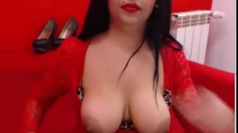 Romanian big-breasted woman, very hungry for a good sex