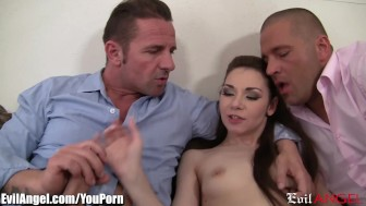 EvilAngel Skinny, Slutty and Double Penetrated